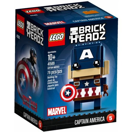 LEGO 41589 BrickHeadz Captain America
