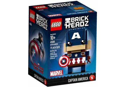 41589 BrickHeadz Captain America