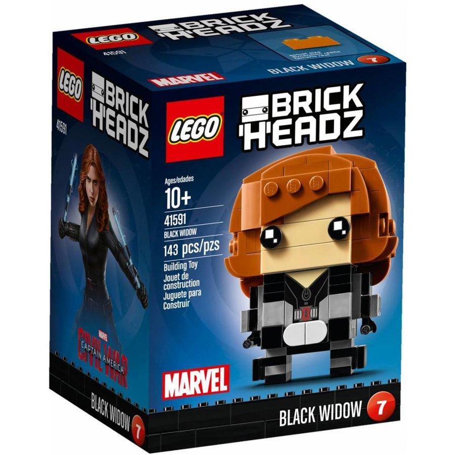 41591 BrickHeadz Black Widow