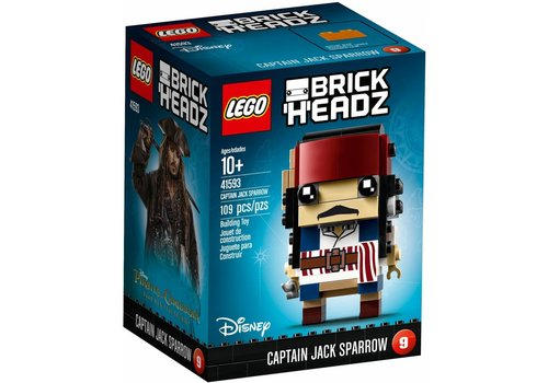 41593 BrickHeadz Captain Jack Sparrow