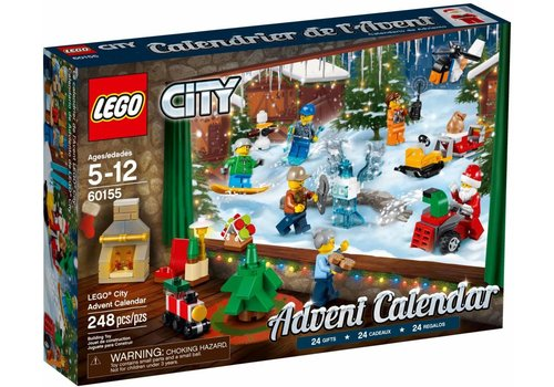60155 Lego City Adventkalender 2017