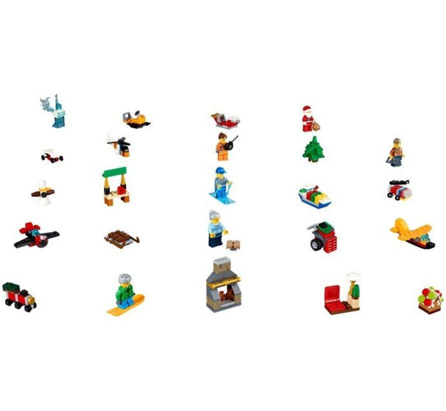 60155 Lego City Adventkalender 2017