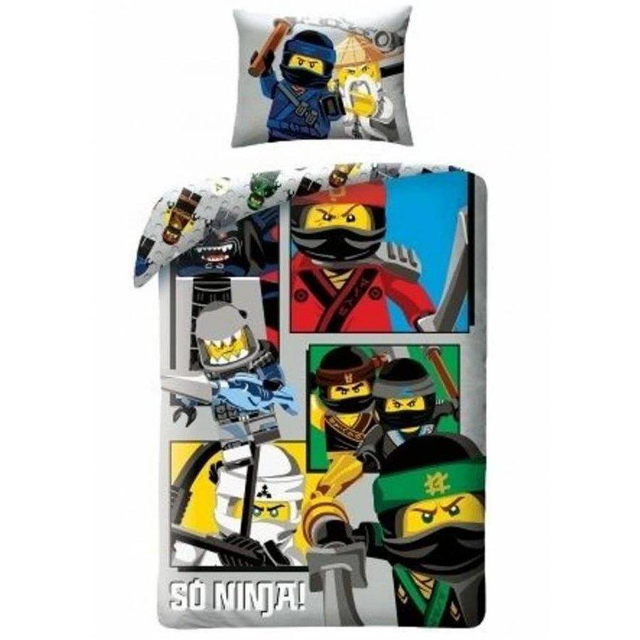 Dekbedovertrek The Ninjago Movie 2-in-1 So Ninja!