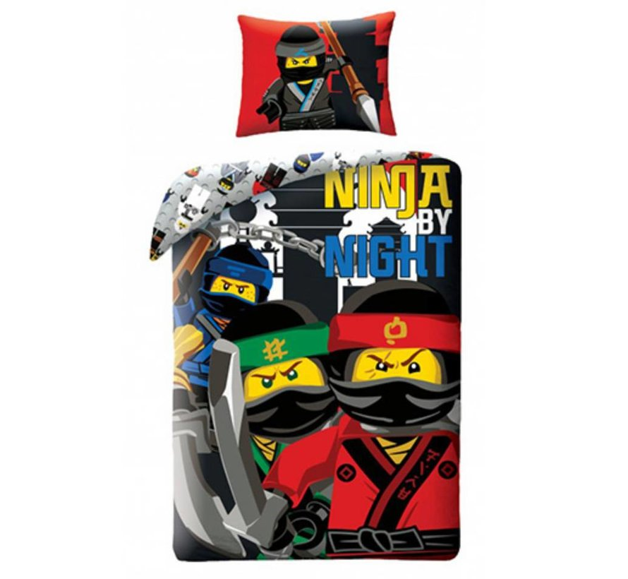 Dekbedovertrek The Ninjago Movie 2-in-1 Ninja by Night