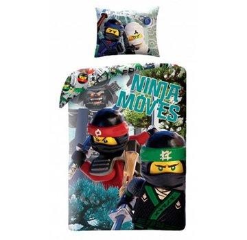 LEGO Dekbedovertrek The Ninjago Movie 2-in-1 Ninja Moves
