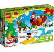 LEGO 10837 Duplo Wintervakantie van de Kerstman