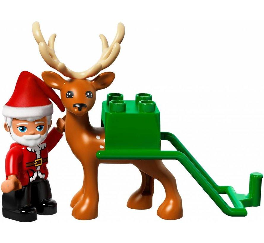 10837 Duplo Wintervakantie van de Kerstman