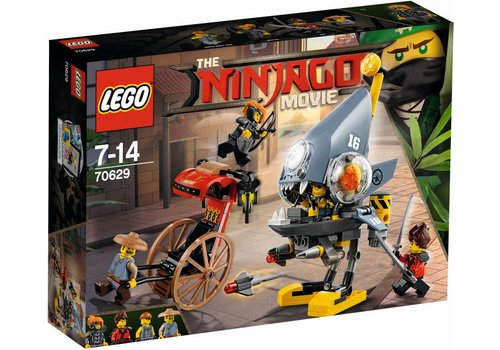 70629 Ninjago Movie Piranha-aanval