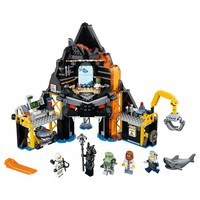 70631Ninjago Movie Garmadon's vulkaanbasis