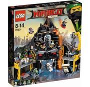 LEGO 70631Ninjago Movie Garmadon's vulkaanbasis