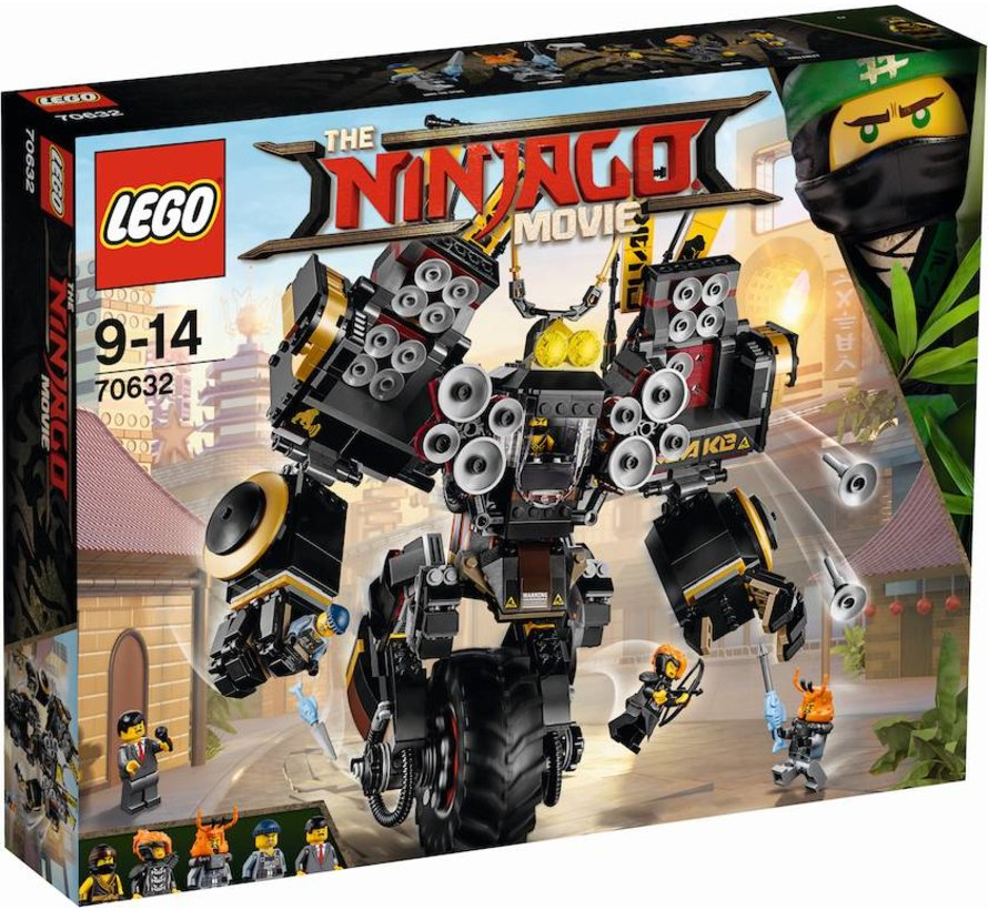 70632 Ninjago Movie Aardschokmecha