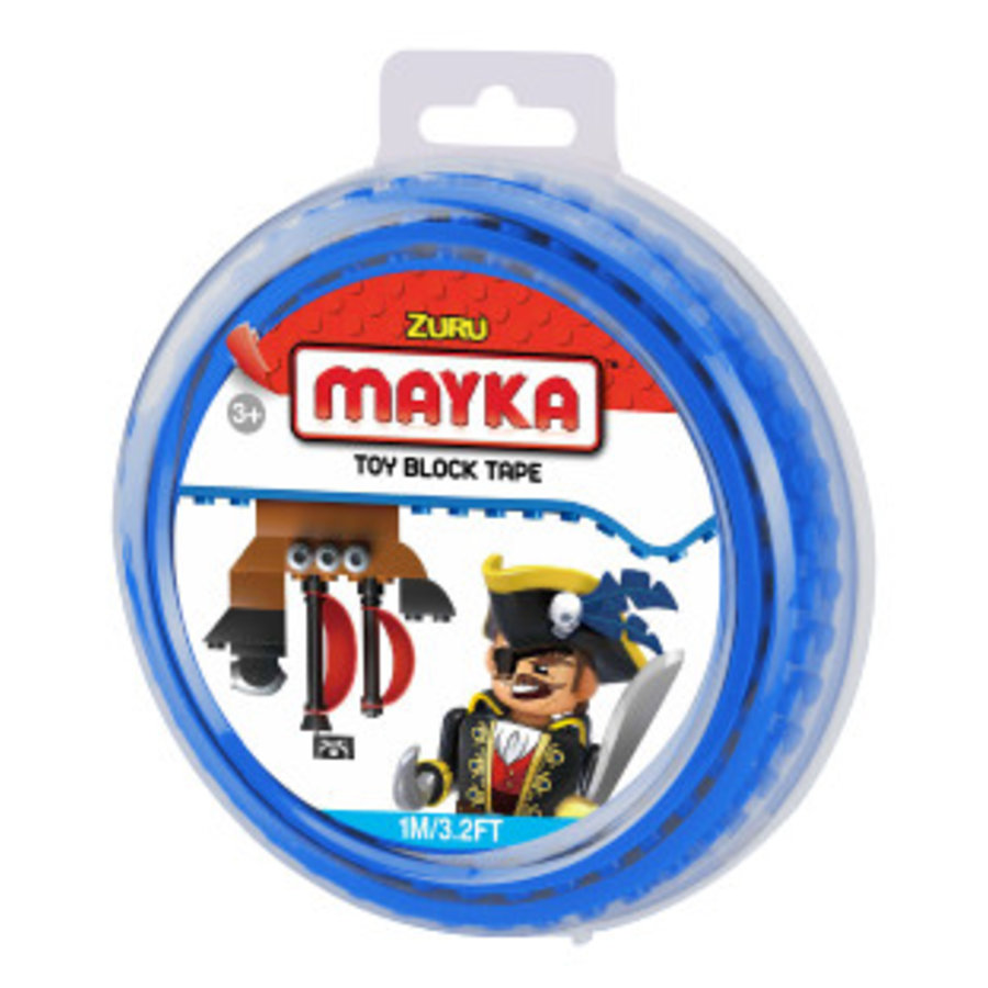 Mayka Toy Block Tape Blauw