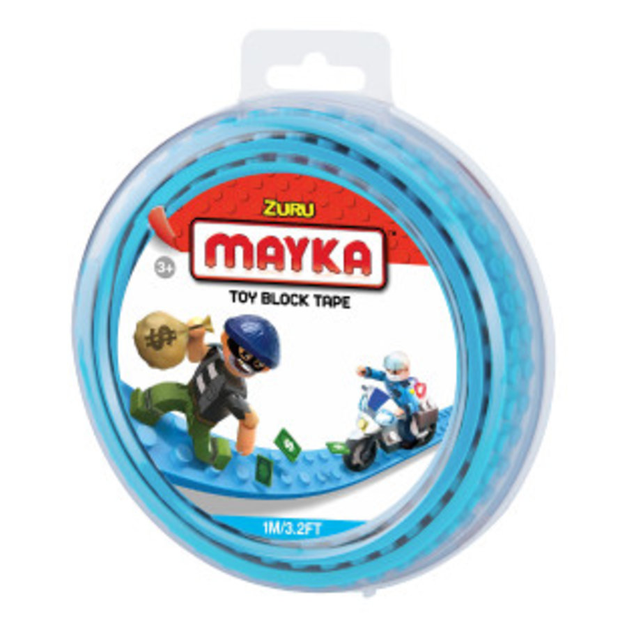 Mayka Toy Block Tape Lichtblauw