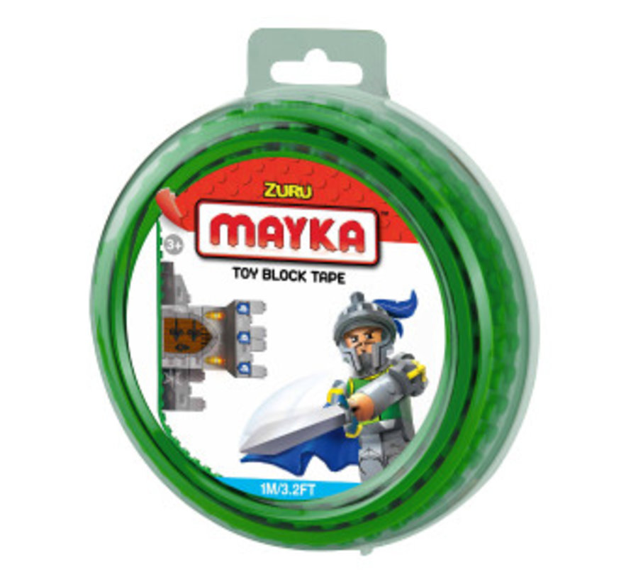 Mayka Toy Block Tape Groen