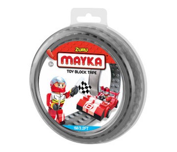 Mayka Toy Block Tape Grijs
