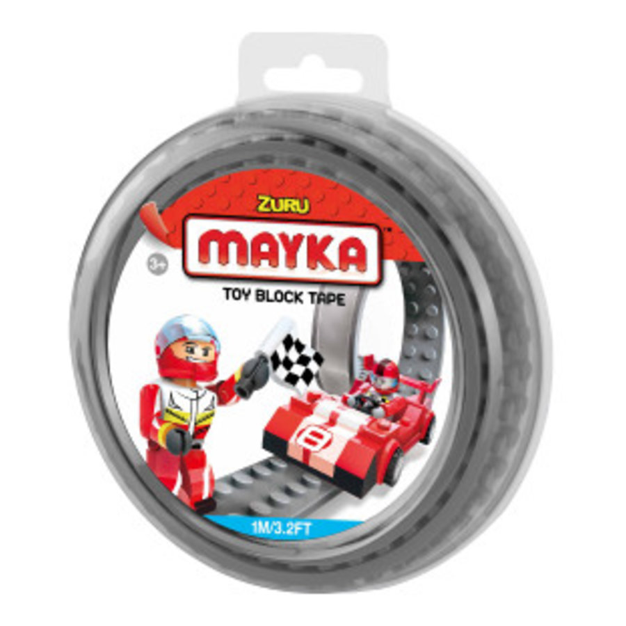 Mayka Toy Block Tape Grijs