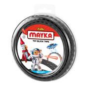 Mayka Toy Block Tape zwart