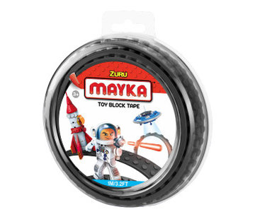 Mayka Toy Block Tape zwart