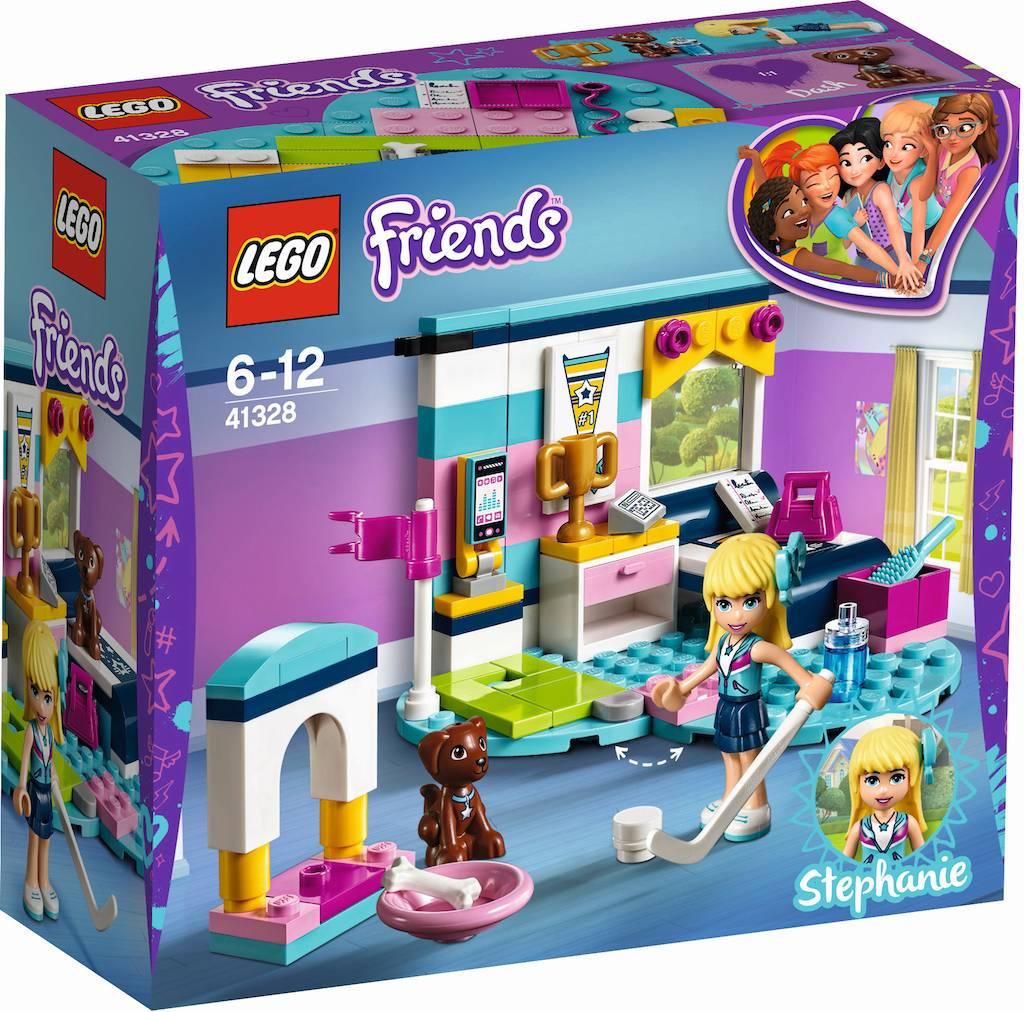 41328 Friends Stephanie`s slaapkamer - Click & Brick