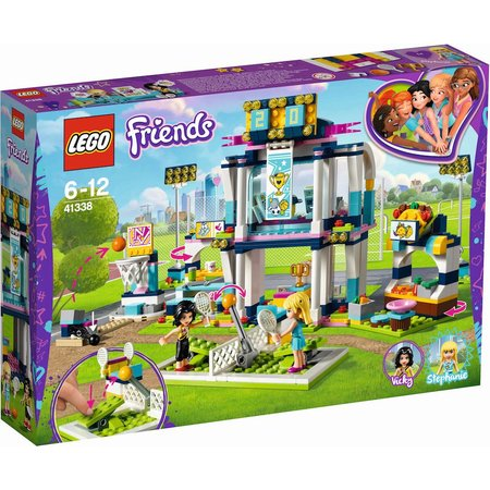 LEGO 41338 Friends Stephanie`s sportstadion
