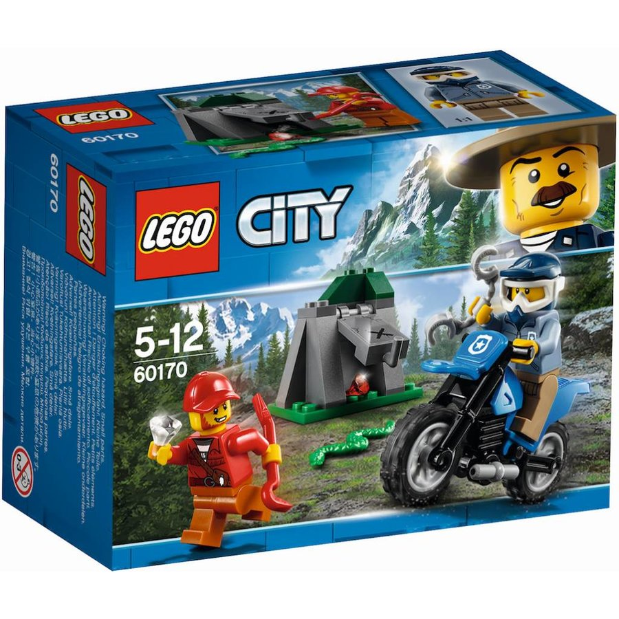 60170 City Off-road achtervolging
