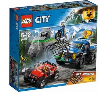 LEGO 60172 City Modderweg achtervolging