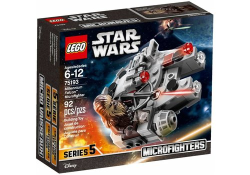 75193 Star Wars Millennium Falcon Microfighter