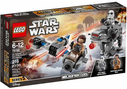 75195 Star Wars Ski Speeder vs. First Order Walker Microfighter