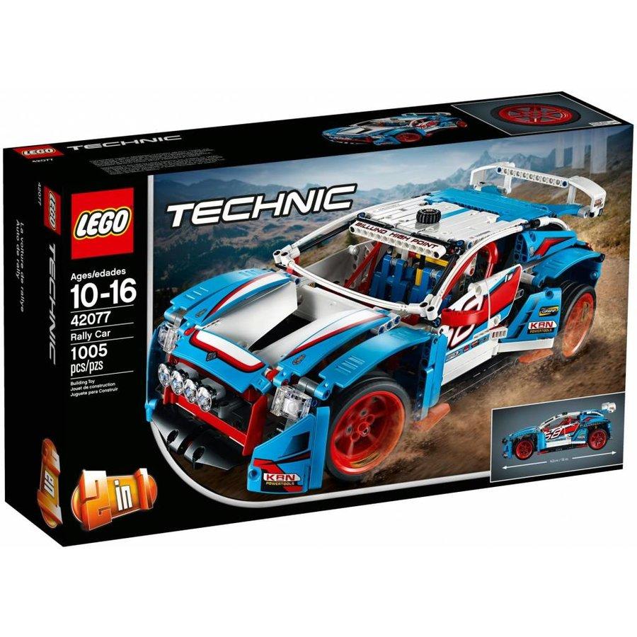 42077 Technic Rallyauto