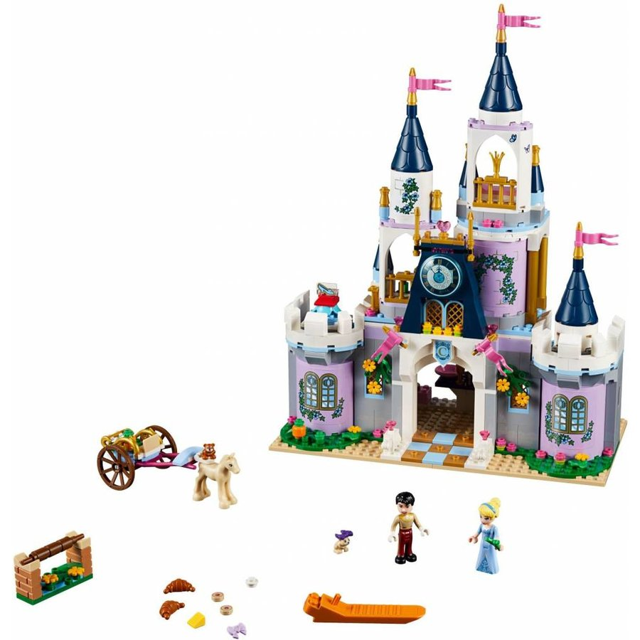 41154 Disney Princess Assepoesters droomkasteel
