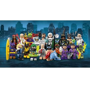 LEGO 71020 Batman Movie Minifiguren Serie 2 Complete set