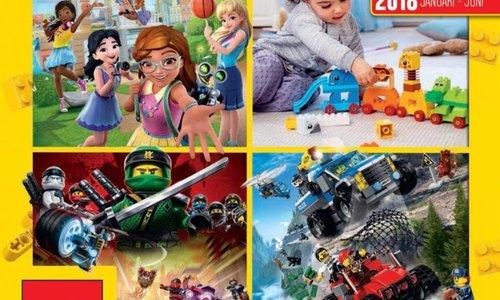 LEGO catalogus 2018