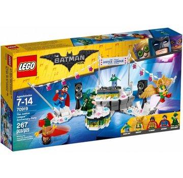 LEGO 70919 Batman Movie Het Justice League jubileumfeest