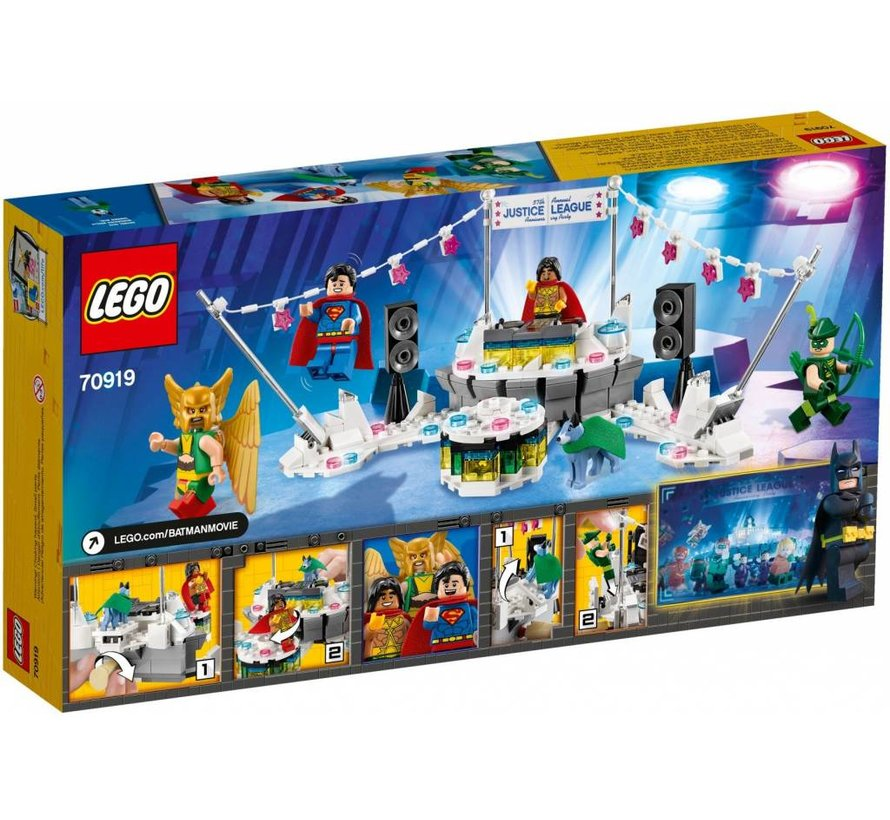 70919 Batman Movie Het Justice League jubileumfeest
