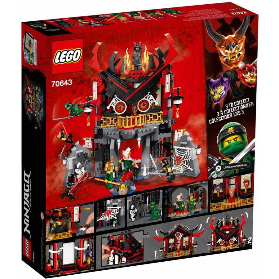 70643 Ninjago Tempel van Wederopstanding