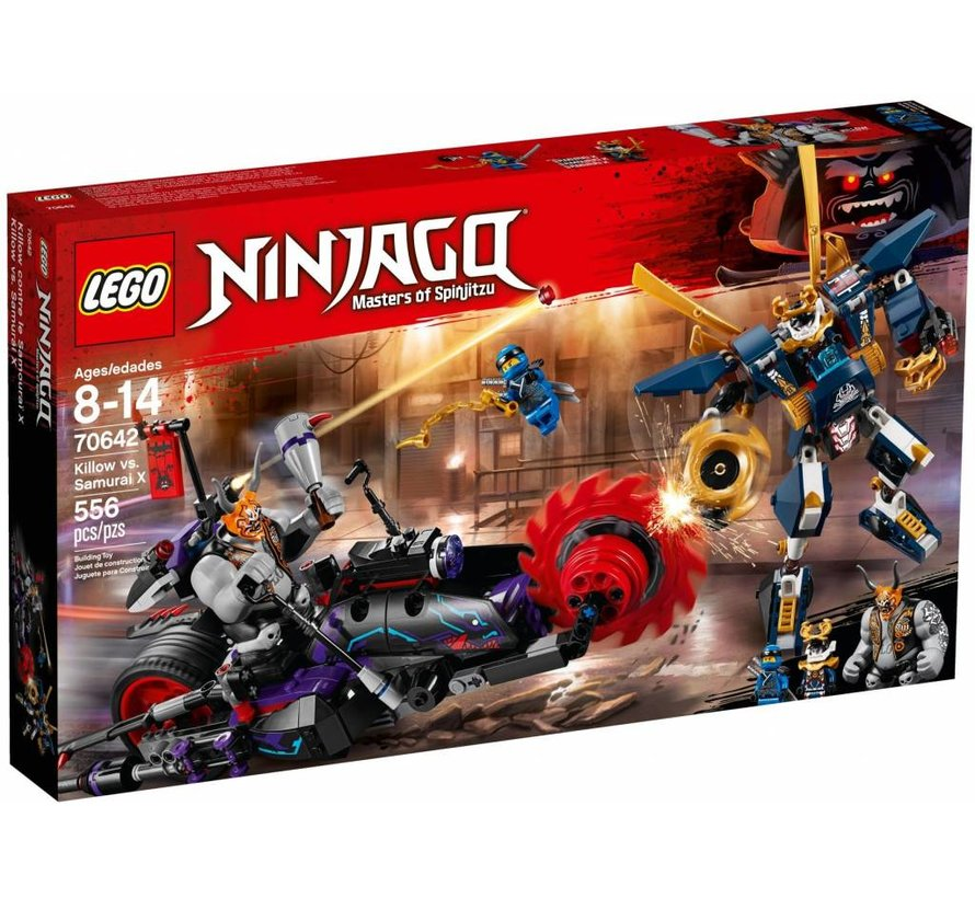 70642 Ninjago Killow vs Samurai X
