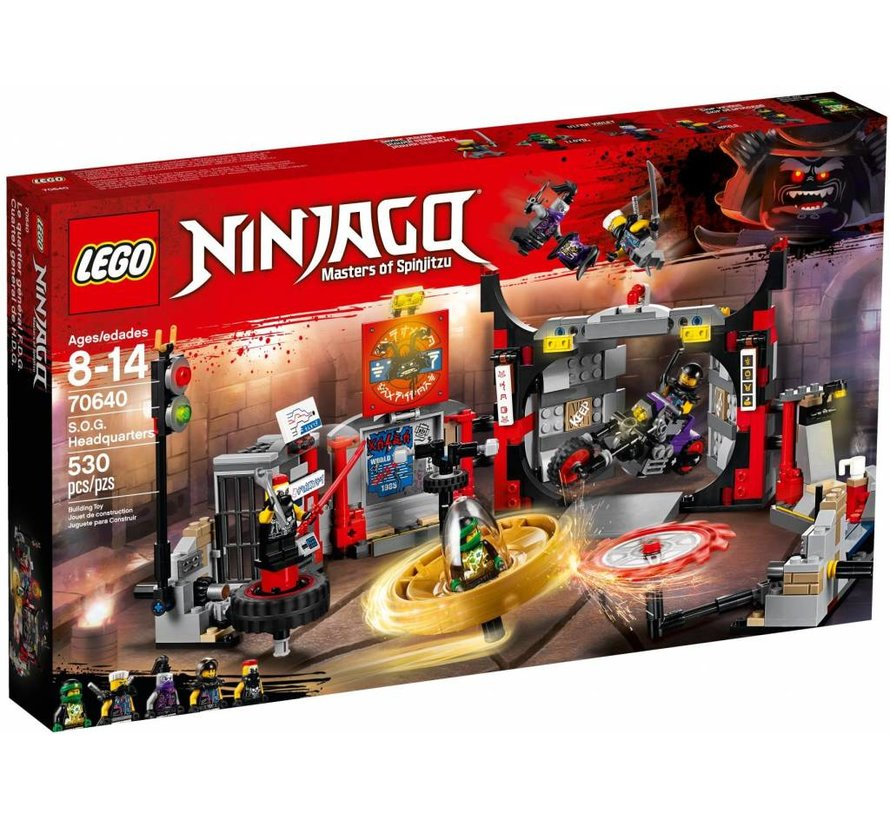 70640 Ninjago S.O.G. Hoofdkwartier