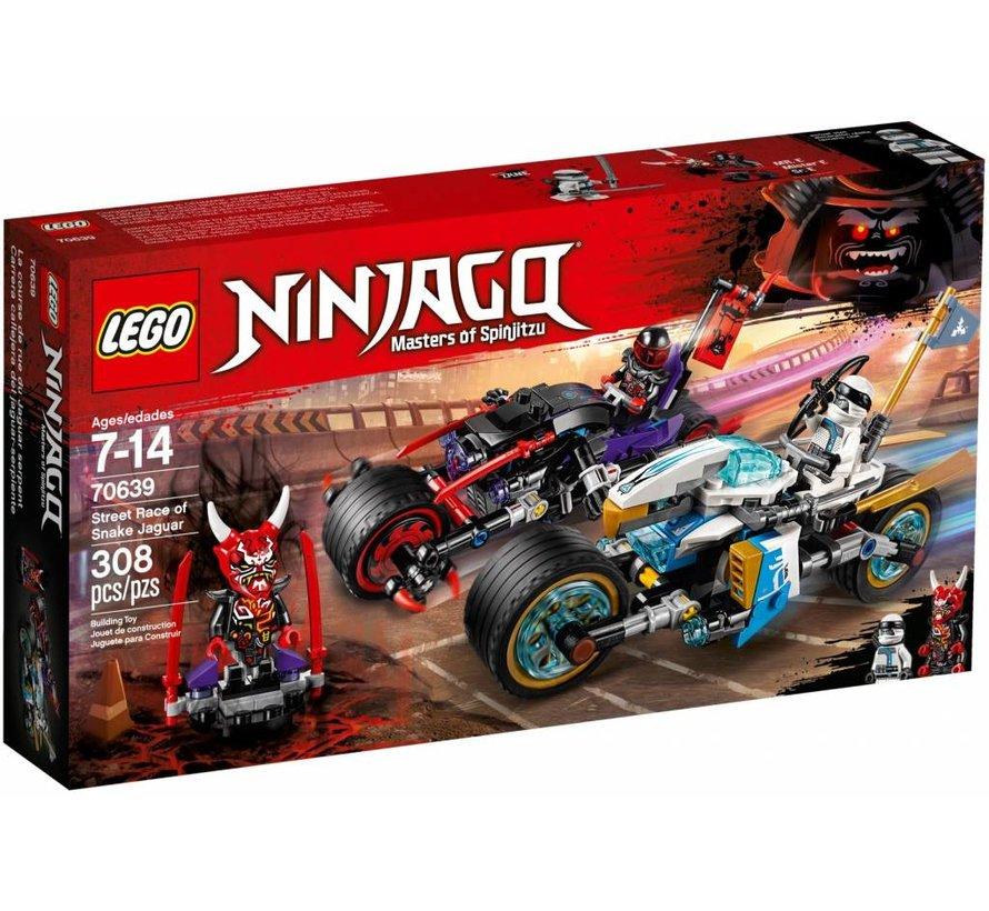 70639 Ninjago Straatrace van de slangenjaguar