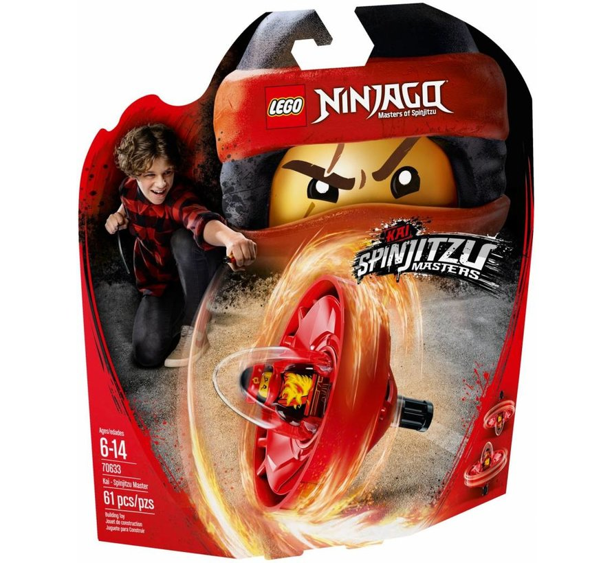 70633 Ninjago Spinjitzu Master Kai