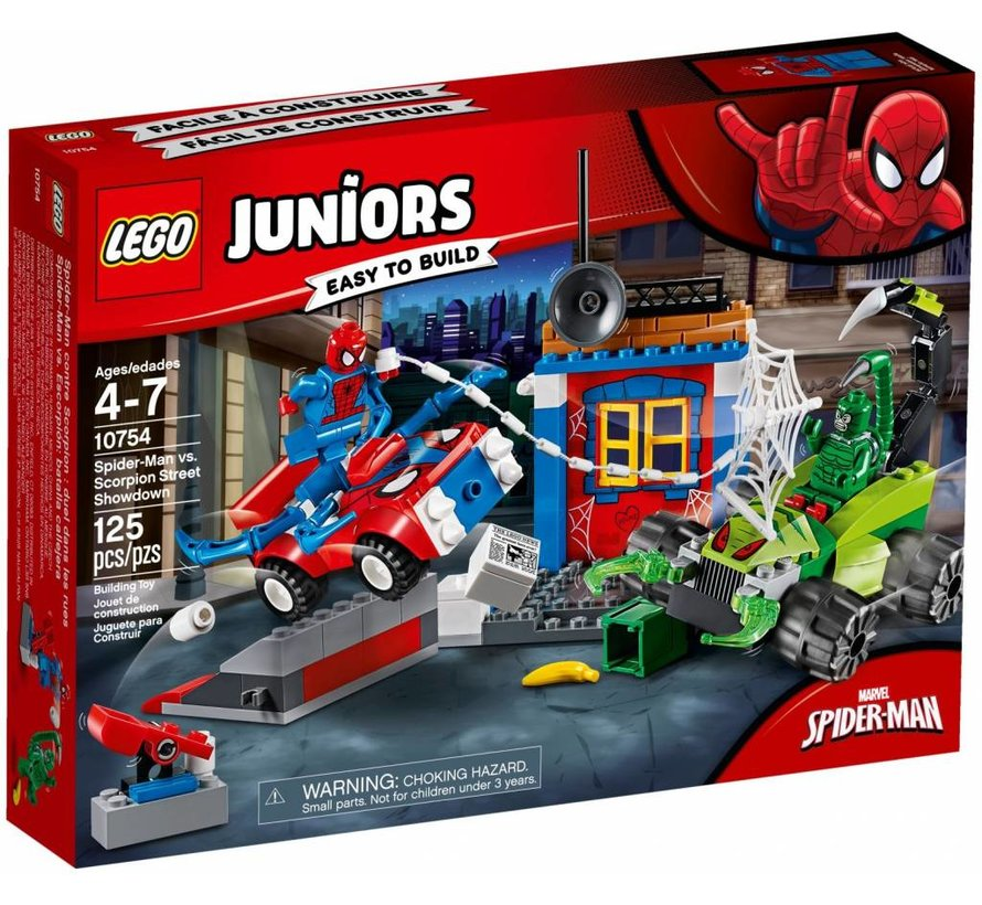 10754 Juniors Spider-Man vs. Scorpion straatduel