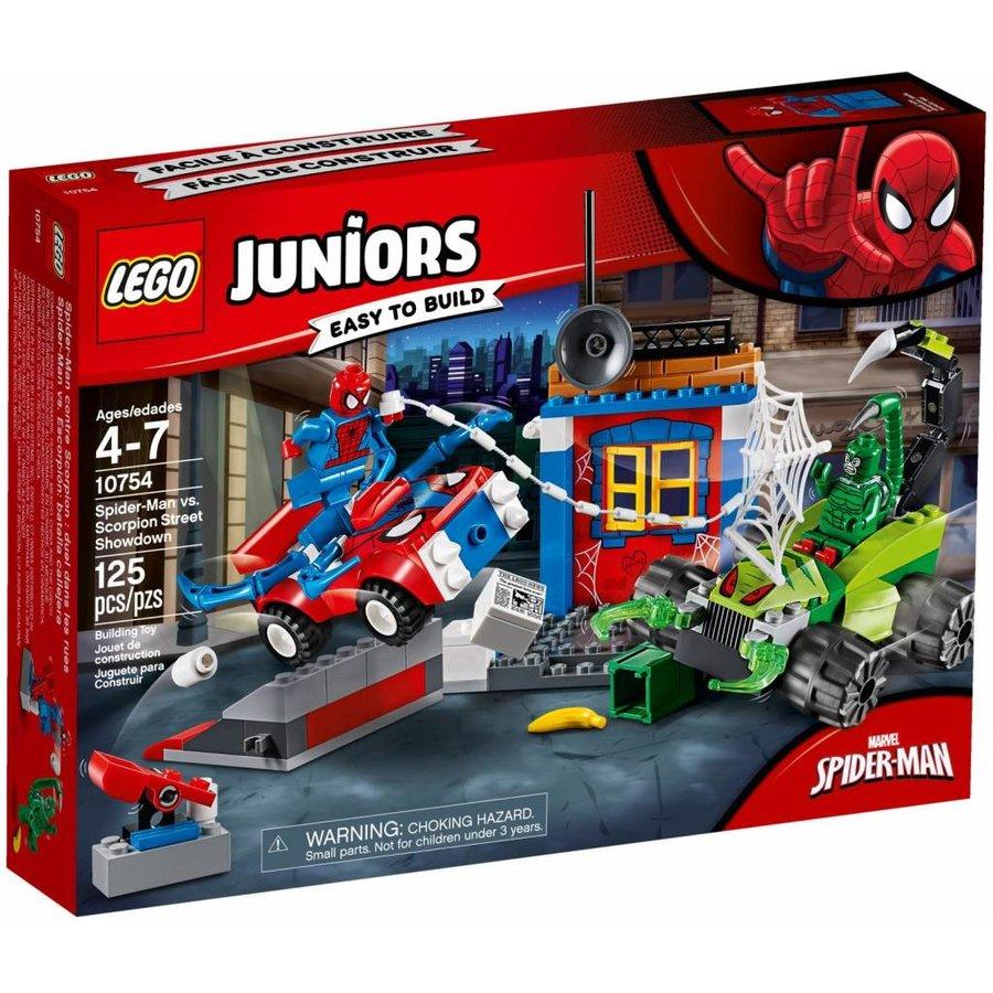 10754 Juniors Spider-Man vs. Scorpion straatduel