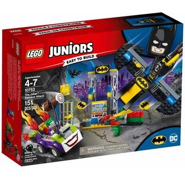 LEGO 10753 Juniors Joker Batcave aanval