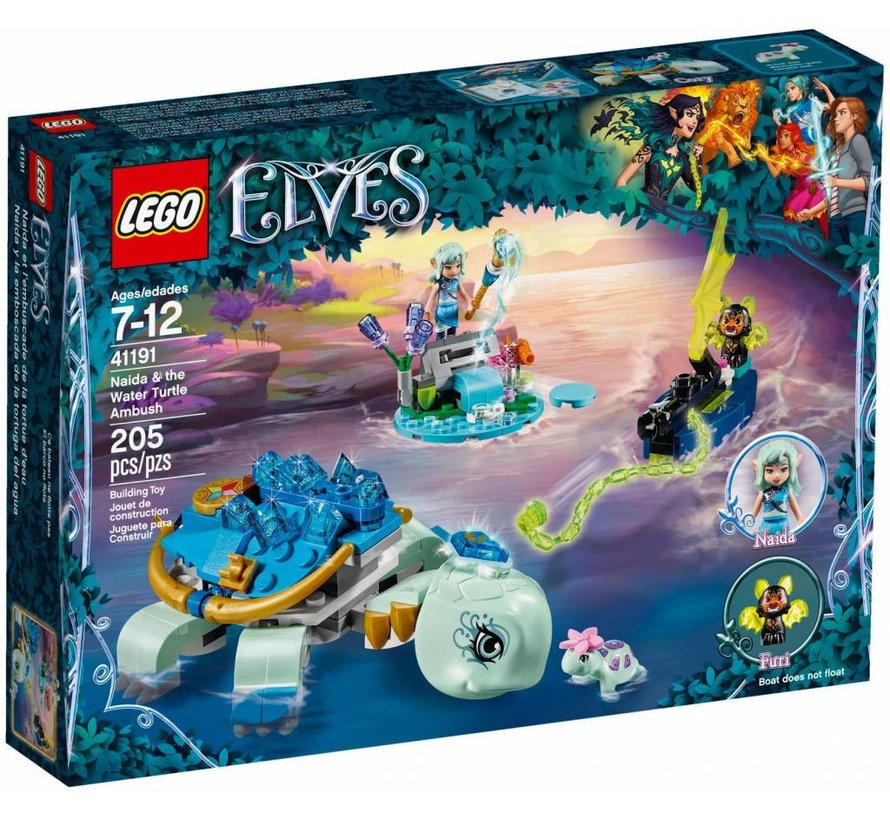 41191 Elves Naida en de waterschildpad hinderlaag