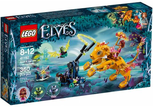 41192 Elves Azari en de vangst van de vuurleeuw