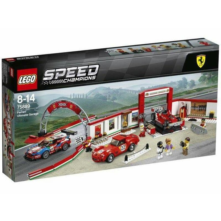 75889 Speed Champions Ultieme Ferrari garage