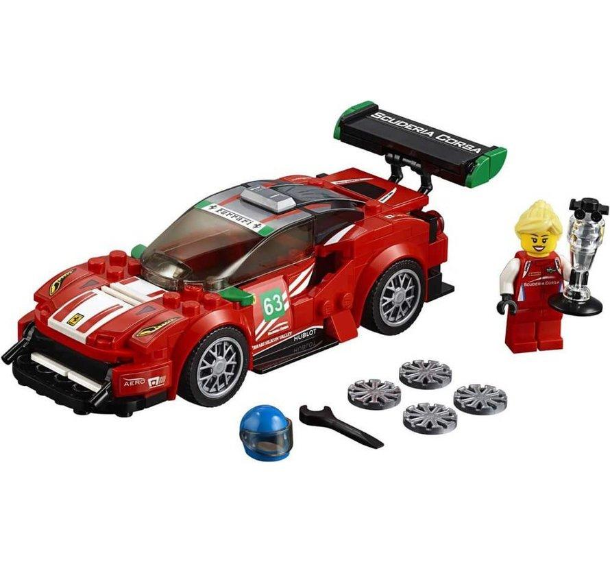 75886 Speed Champions Ferrari 488 GT3 Scuderia Corsa