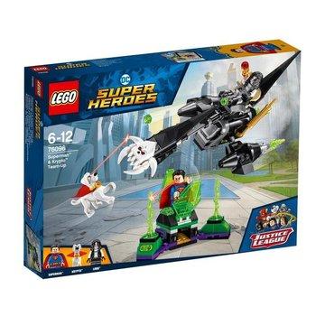 LEGO Super Heroes 76096 Superman en Krypto samenwerking
