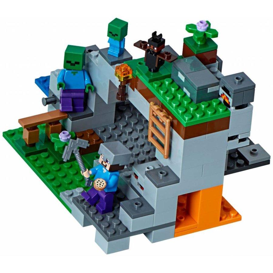 21141 Minecraft De zombiegrot