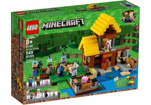 21144 Minecraft Het boerderijhuisje
