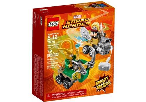 76091 Mighty Micros: Thor vs. Loki